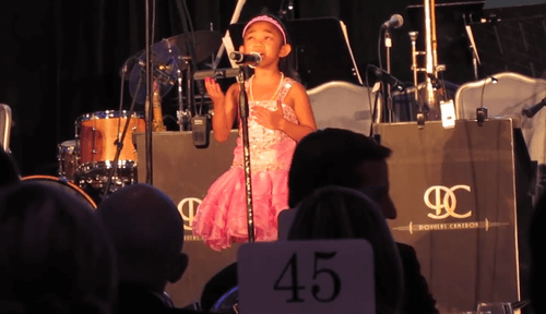 Angelica Hale-1st Performance After Surgery