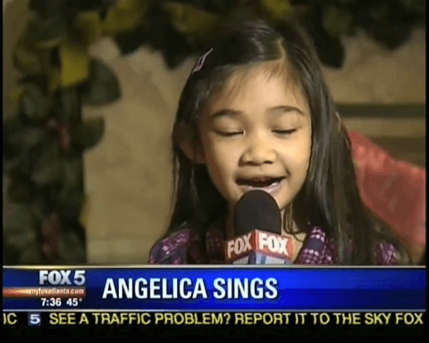 Angelica Hale 1st TV Interview - 6 Yrs Old