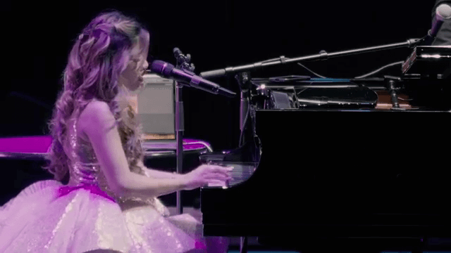 Angelica Hale - Plays Piano